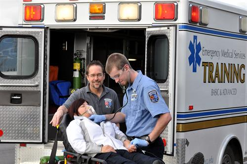 RCC's EMT Training.