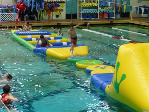 WiBit Pool Obstacle Course
