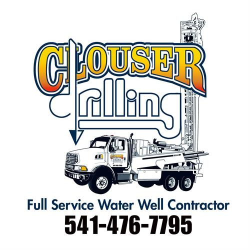 Clouser Drilling Full Service Water Well Contractor