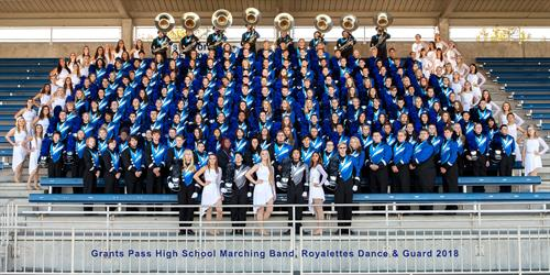 2018 Marching Band and Color Guard