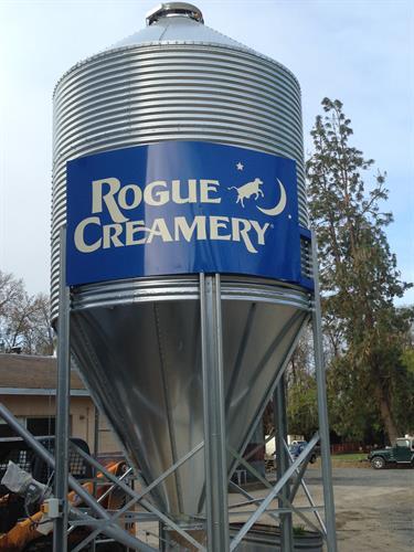 Rogue Creamery Dairy Silo
