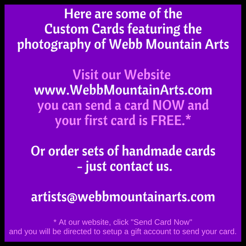 Go to https://www.WebbMountainArts.com to send your card