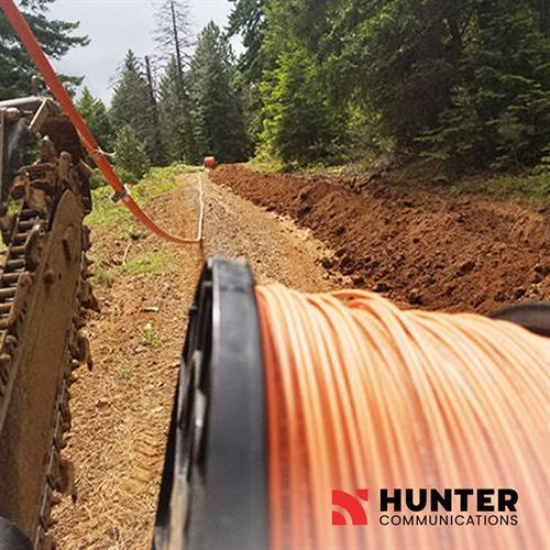 Hunter Communications provides high-speed fiber-optic internet to Southern Oregon.