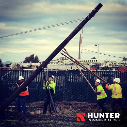 Hunter Communications helps connect Oregon's residents, businesses, educational systems, healthcare facilities, city and county governments, and more to its premier fiber-optic internet and telecommunications network.