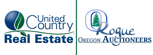 United Country Real Estate - Rogue Oregon Auctioneers Logo