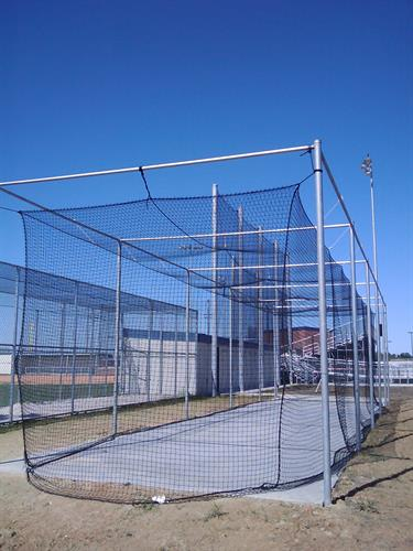 Need a batting cage? We can build it for you.