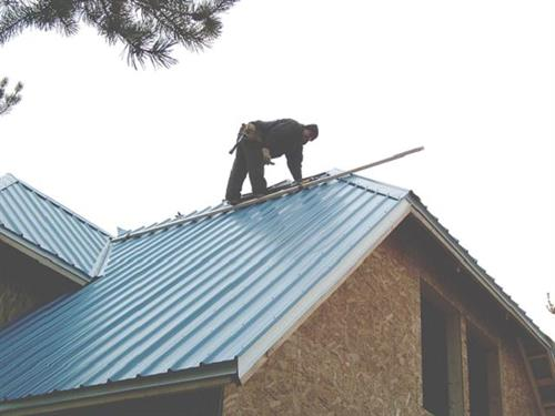 We can install all types of roofing: Composite shingle, standing seam, and more.