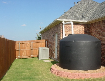 Want to go green with rainwater recovery. Yep, we do that.