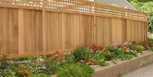 Fencing, Landscaping, patios, and sidewalks are just a few of the ways we can enhance the value of your back yard.
