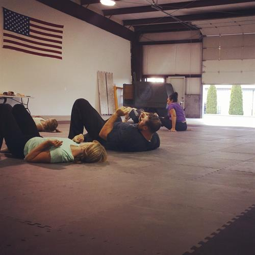 Women's Self Defense ground work