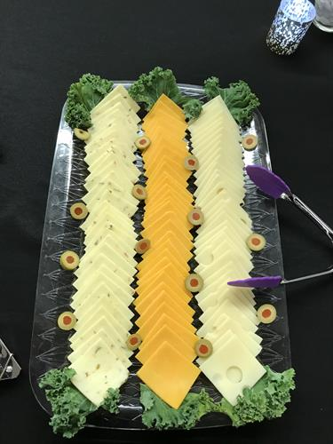 Build your own Sandwich Cheese Tray