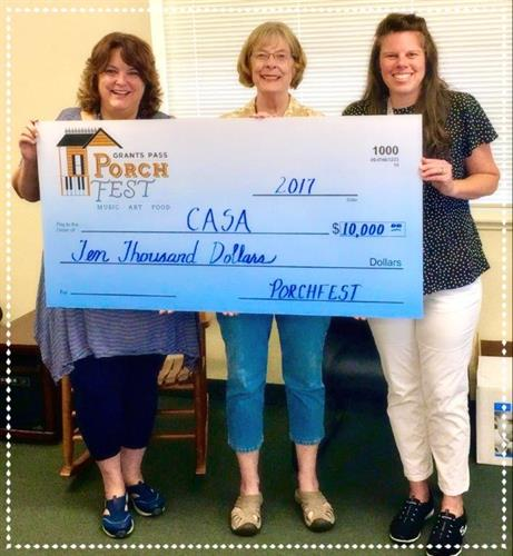 We depend on you! Donate to CASA today!