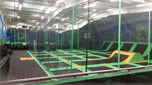 Rare Air Trampoline Park Redding California