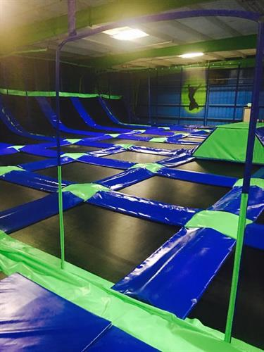 Rare Air Trampoline Park Chico California