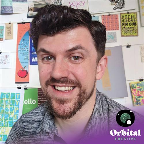 Andre Casey, owner and designer, Orbital Creative