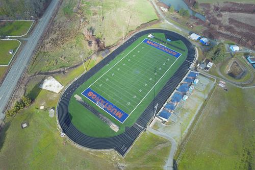 Drone Photo at Hidden Valley High School