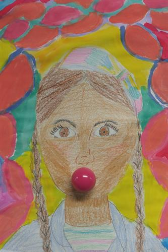 Self-portrait Art Project