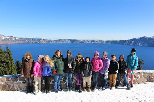 Grades 5-6 Field Trip to Crater Lake