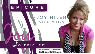 Joy with EPICURE