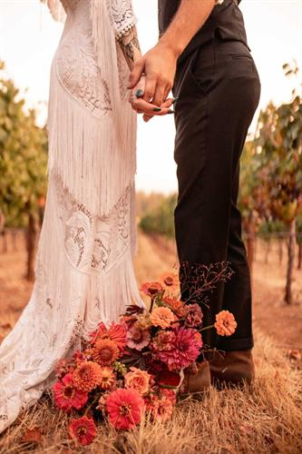Couples love to walk the entire property for the best photo opts, and we love when they do.