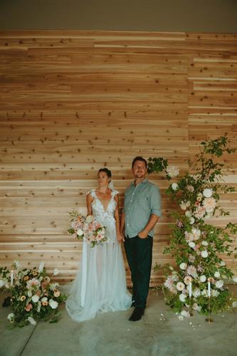 We're a venue with indoor wedding options too!