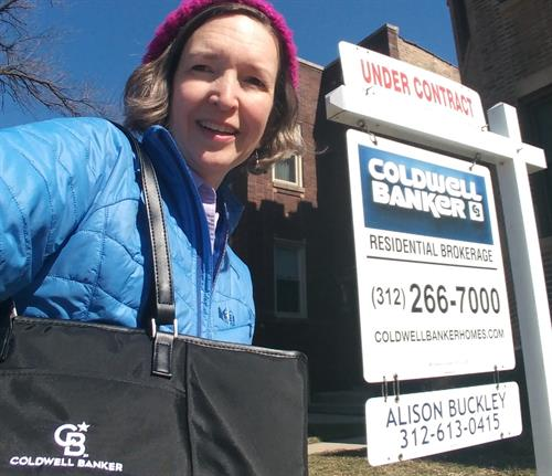 Alison Buckley's Coldwell Banker 2020 For Sale Sign
