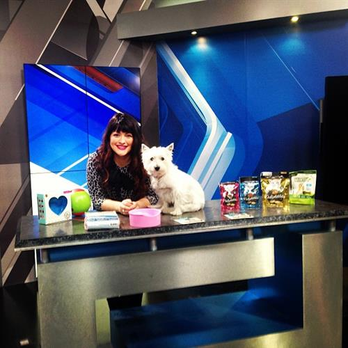 Victoria the Owner on Fox News as a Pet Expert