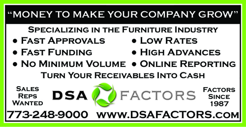 DSA Factors - Specializing in the Furniture Industry