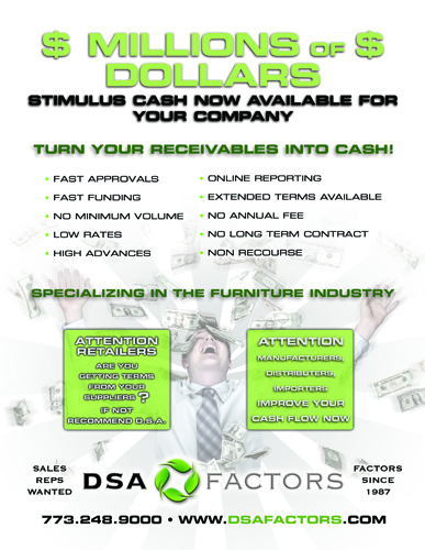 DSA Factors - Turn Your Receivables Into Cash!