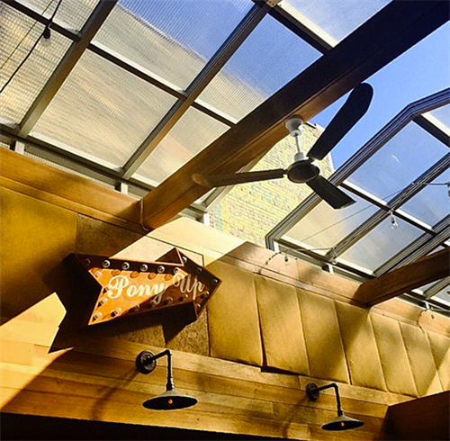 Pony Up Retractable Roof