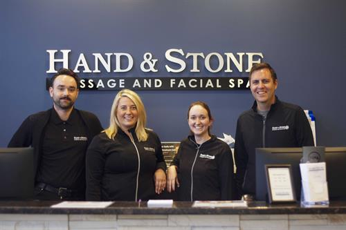 Our front desk team is here to help you have a wonderful service.