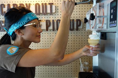 Soft serve available!