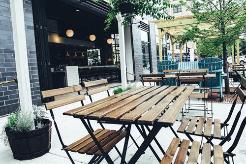 Full patio