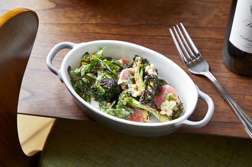 Charred Broccoli (credit Neil Burger)