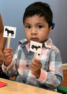 Child's Voice Early Intervention program serves children from just a few weeks old through the age of 3.