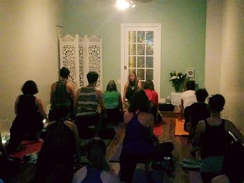 Yoga Classes in Our Studio