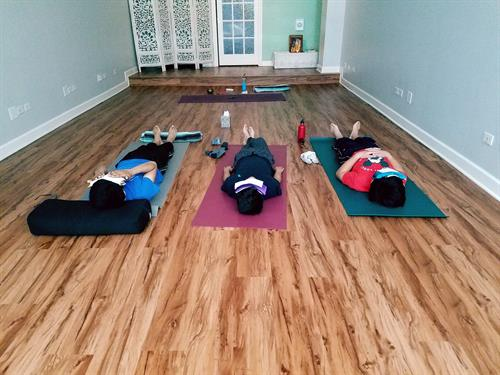 Yoga for Teens, Families, and Kids