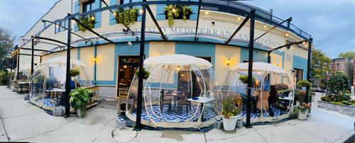Le Sud Winter Dining Domes