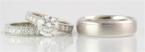 Custom bridal jewelry by Ellie Thompson