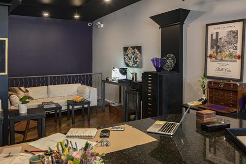 Interrior, Design Table at Ellie Thompson + Co.