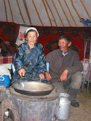 Visit with nomads in western Mongolia