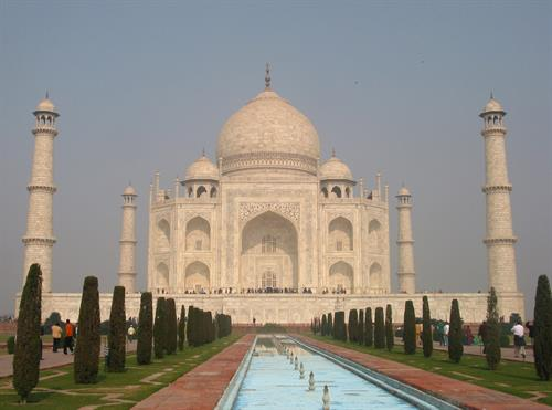 Taj Mahal, Agra, India: not to be missed.