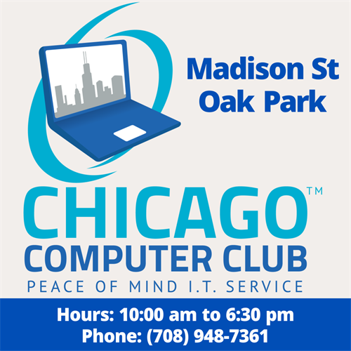 Chicago Computer Club - Oak Park Store Online Locator