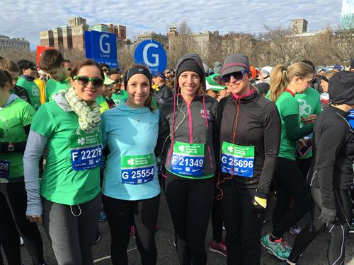 FCM employees running the Shamrock Shuffle!