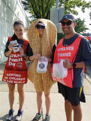 Kiwanis Peanut Day fundraisers