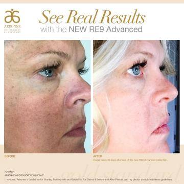 Wow! Look at those results in just one month!