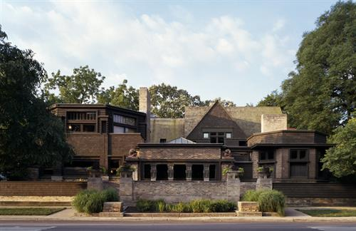 Exterior, Frank Lloyd Wright Home and Studio (1889/1898), Oak Park, Illinois