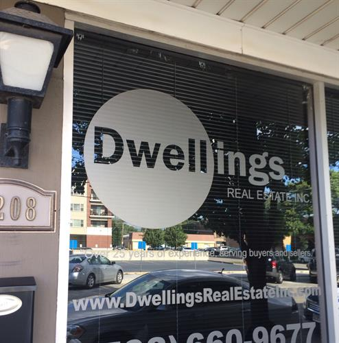 Dwellings Real Estate Inc. Berwyn's Depot District location