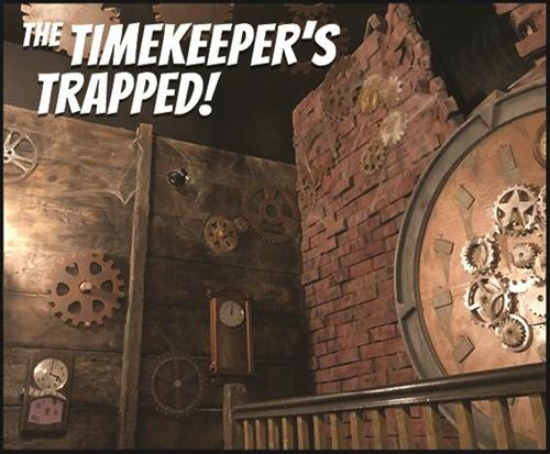 The Timekeeper's Trapped!