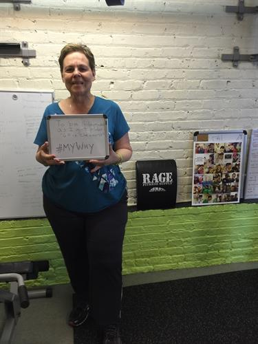 Janice #MyWhy - Oak Park Fitness Trainer client since 2015